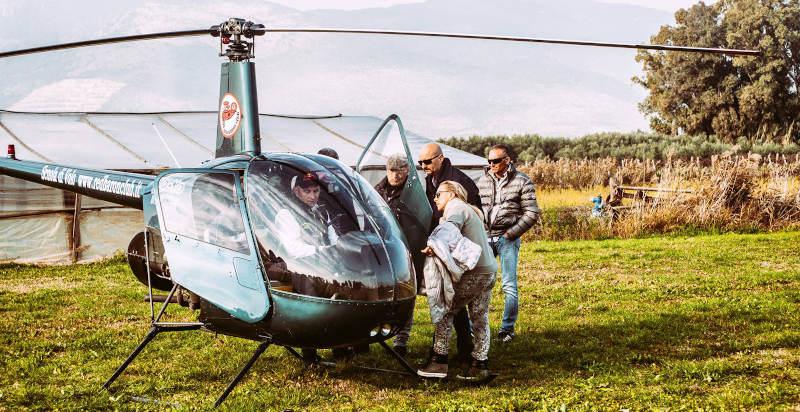 Elicottero Dat3 : Elicottero roma pilotare un come regalo