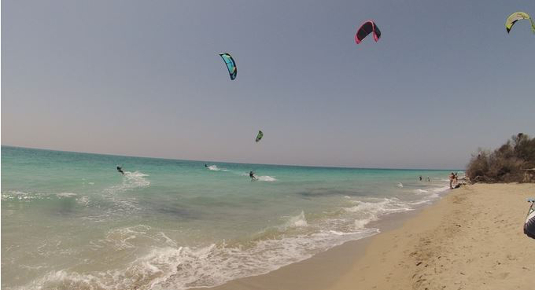 Salento kite surf
