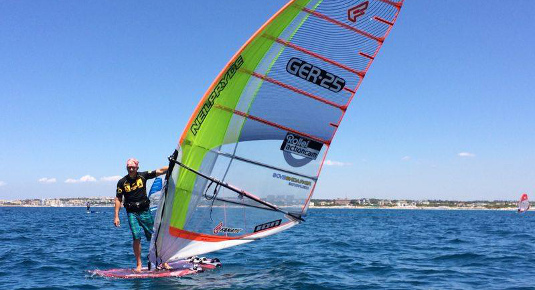 Salento windsurf