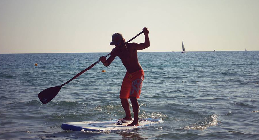 Stand up paddle Salento