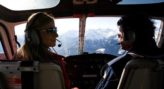 Elicottero Dat3 : Volo in elicottero e degustazione spumante prov di