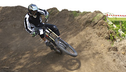 Mountain bike downhill