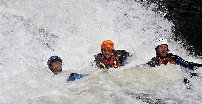 Canyoning in val di Fiemme