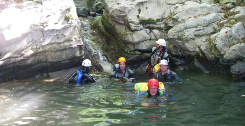 Canyoning Toscana Lucca