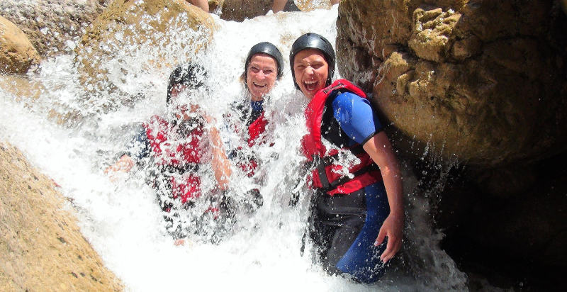Canyoning val di Fiemme