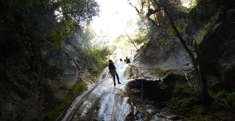 Discesa canyoning Valnerina