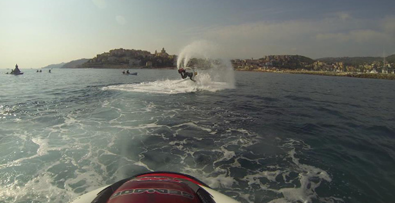 Dove fare flyboard Liguria