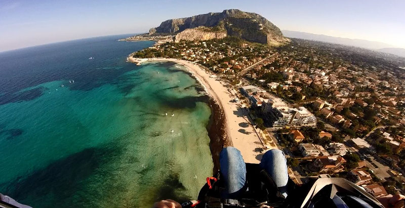 Fly winch Palermo parasailing