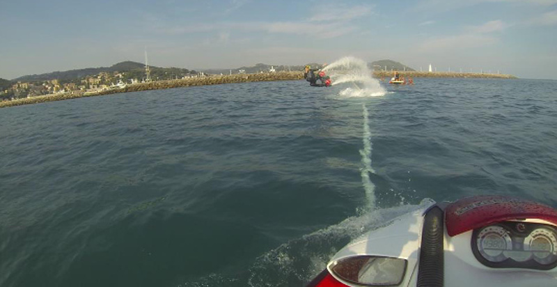 Flyboard Liguria dove