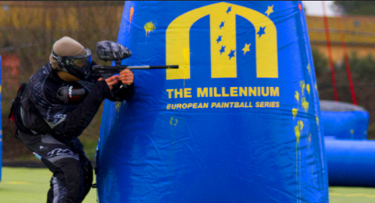 Giocare a paintball a Roma
