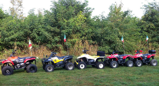 Gite in quad Pavia