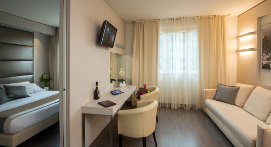 Hotel Cesano Maderno suite