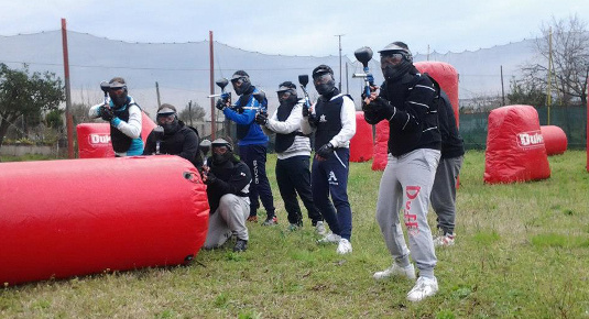 Partita paintball Caserta