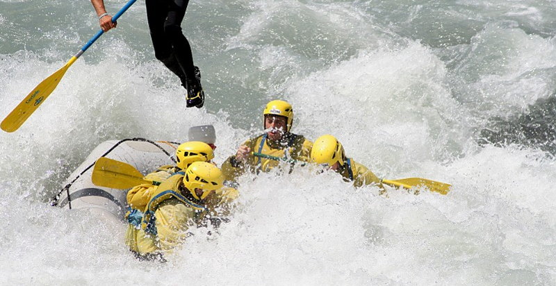 Rafting Valle d'Aosta dove