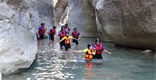 Canyoning in Trentino