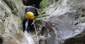 Discesa canyoning Rieti