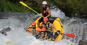 rafting in val di fiemme
