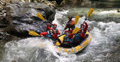 canyon rafting fiume lao