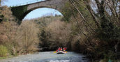 canyon rafting fiume lao calabria