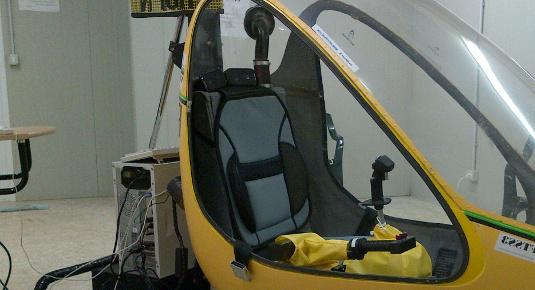 simulatore di volo per elicotteri