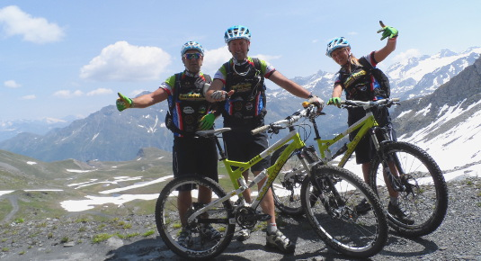 Week end in bici Aosta