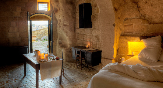 Week end romantico le grotte della Civita
